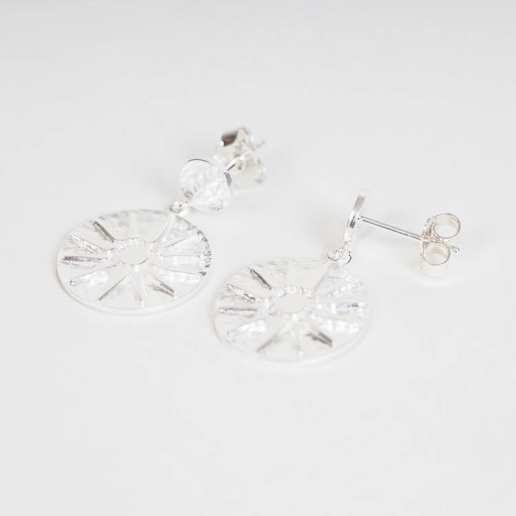 Pernille Corydon Bali Silver 28mm Earrings