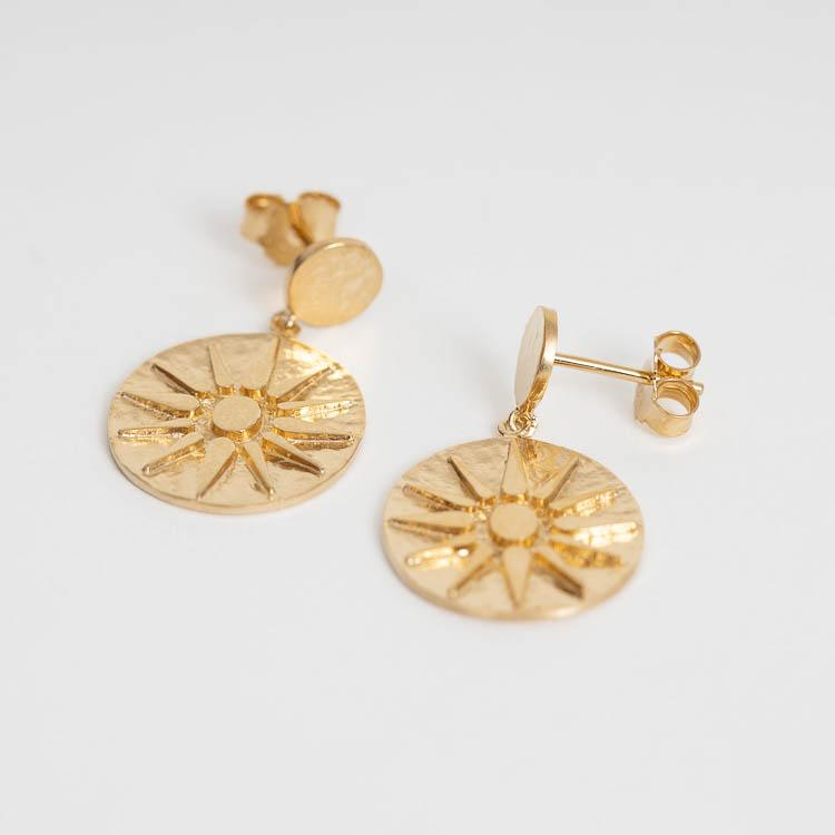 Pernille Corydon Bali Gold 28mm Earrings