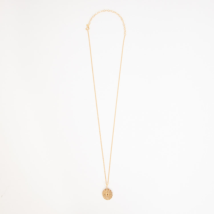 Pernille Corydon Bali Gold Adjustable Necklace - full chain