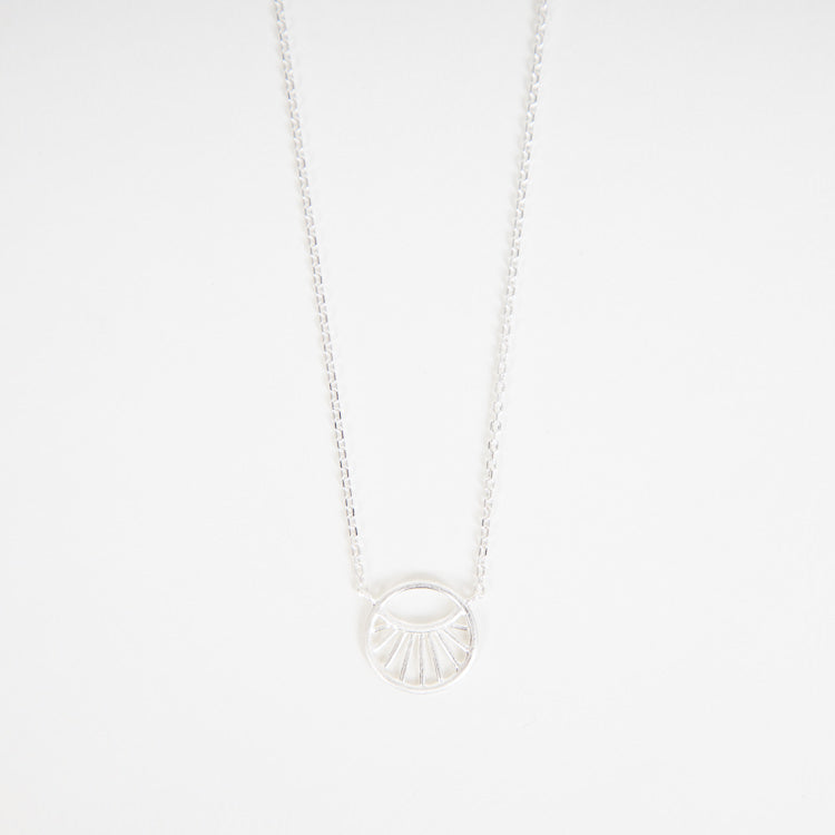 Pernille Corydon Small Daylight Silver Necklace