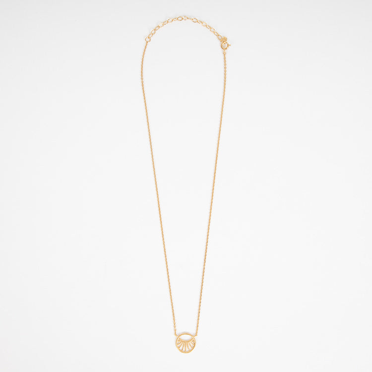 Pernille Corydon Small Daylight Gold Necklace - full chain