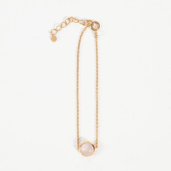 Product shot of Pernille Corydon Aura Rose Gold Plated Bracelet