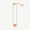 Product shot of Pernille Corydon Aura Coral Gold Plated Bracelet