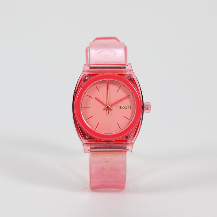 Product shot of Nixon Medium Time Teller P Coral Watch