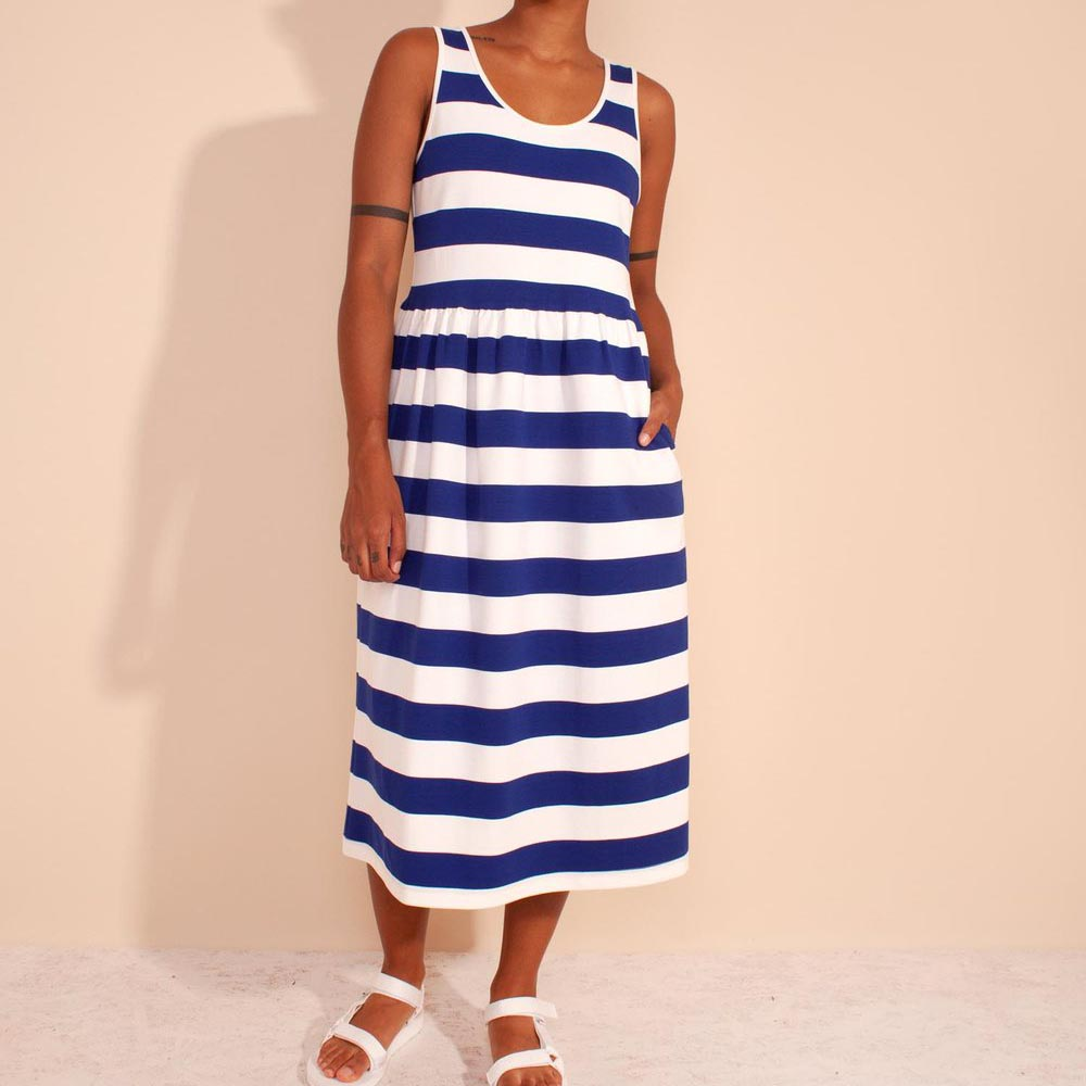 L.F. Markey Cobalt Albert Dress