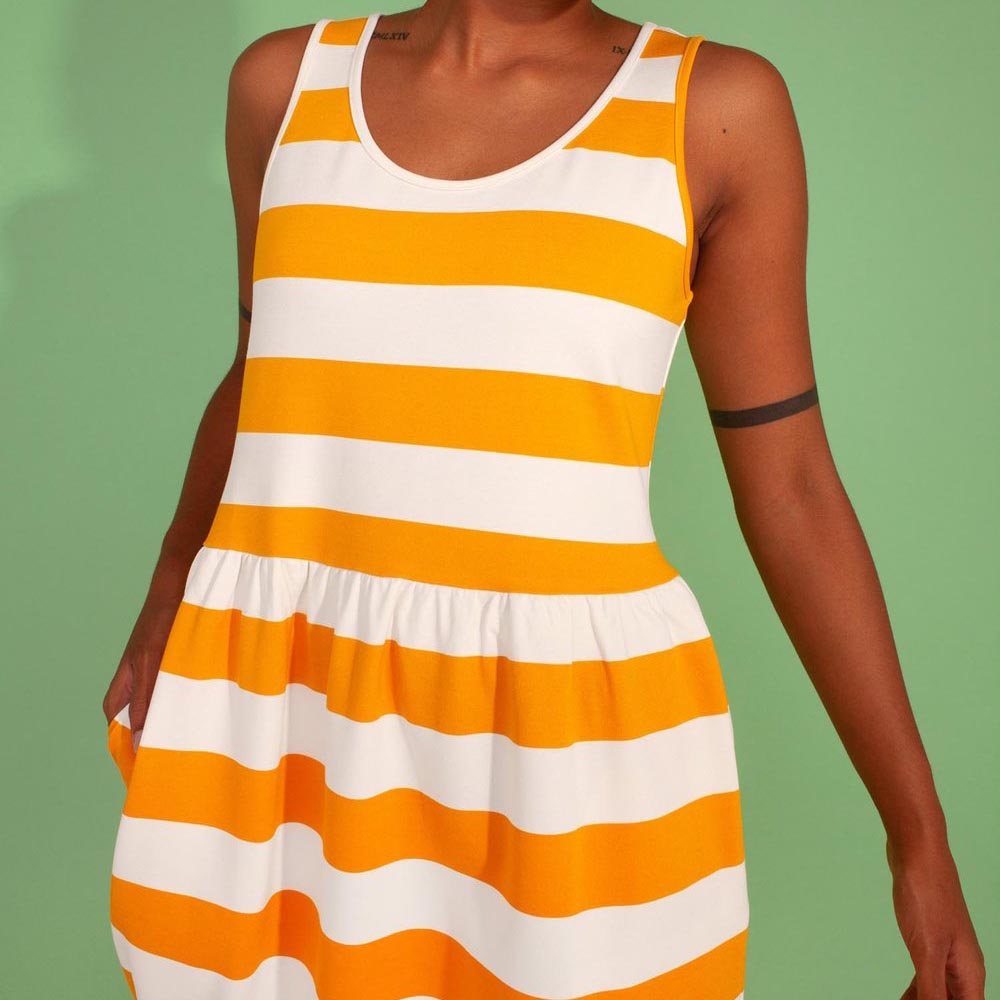 L.F. Markey Yellow Albert Dress