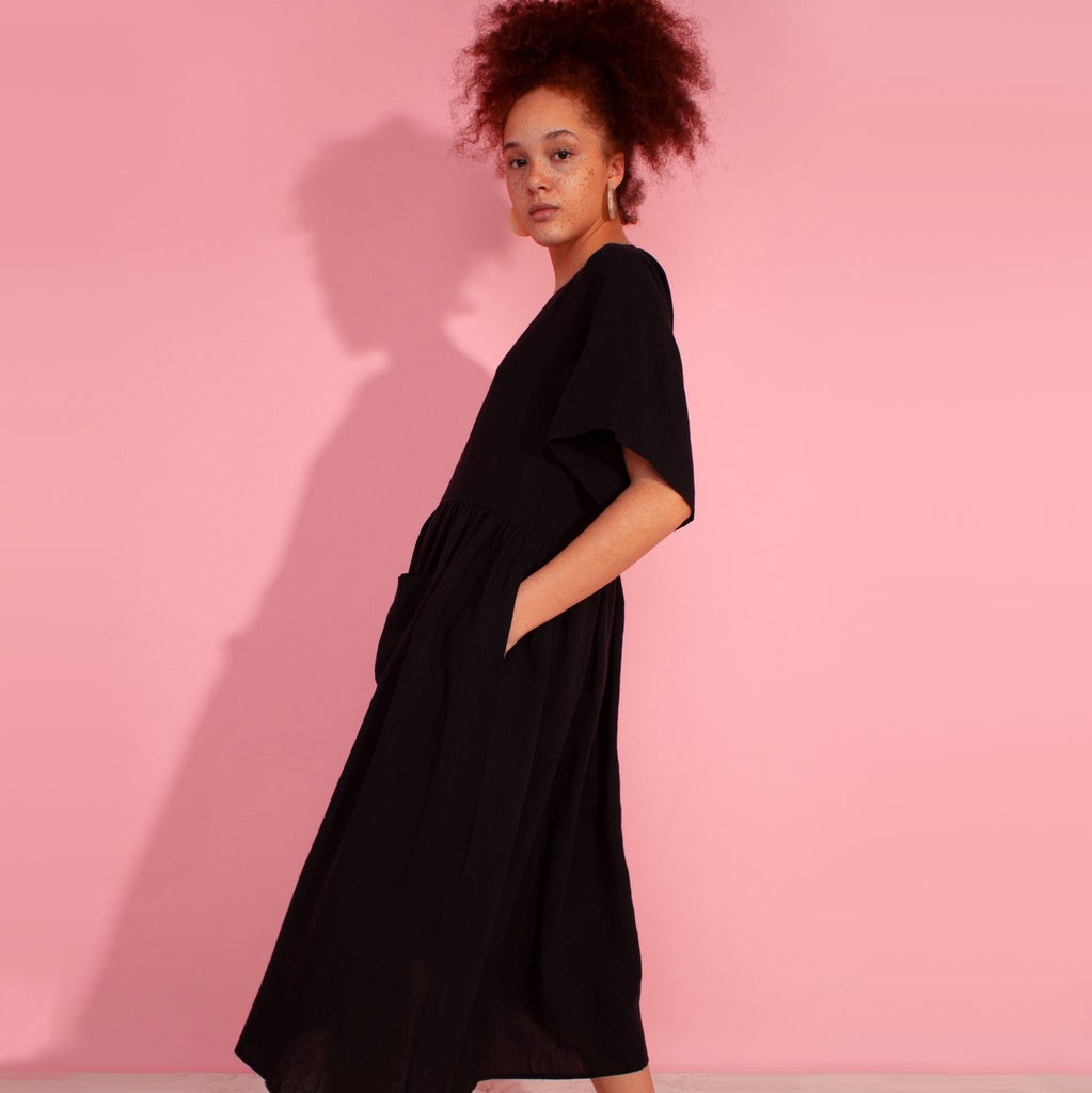 L.F. Markey Black Mitch Dress