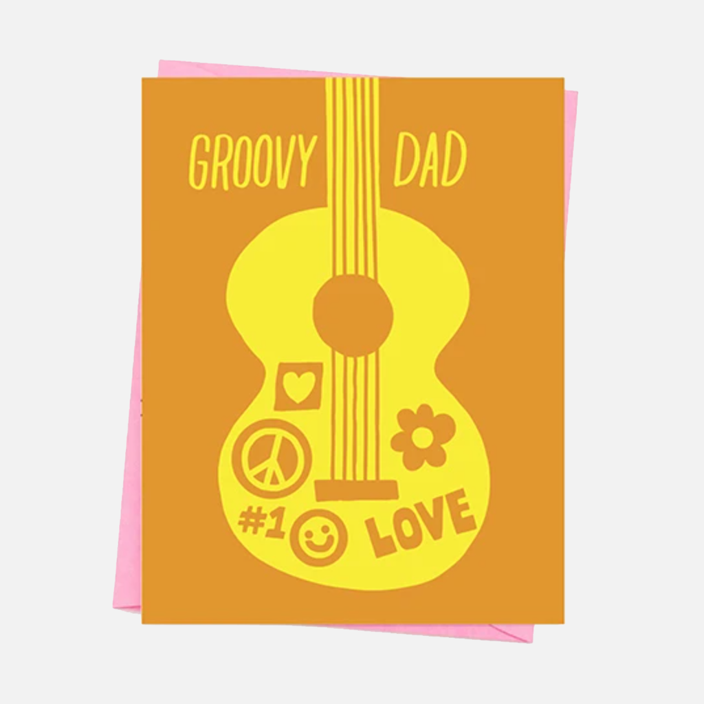 Ashkahn Groovy Dad Greetings Card