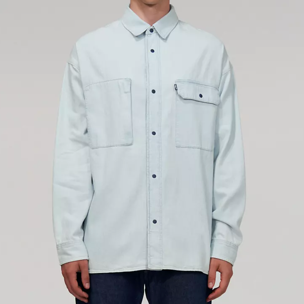 Levi's Made & Crafted Men's Mammoth Blue Mountain Shirt