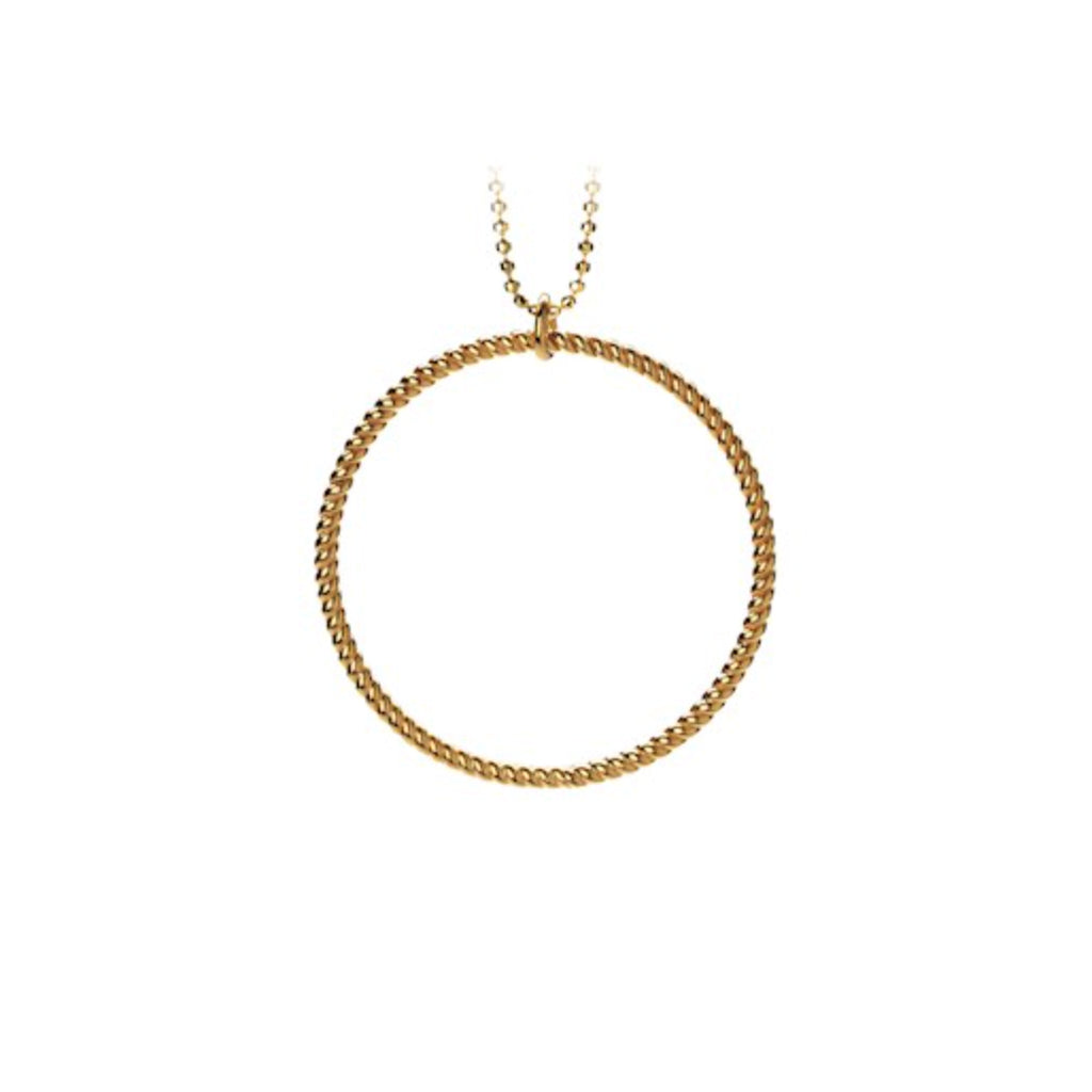 Pernille Corydon Big Twisted Gold Necklace