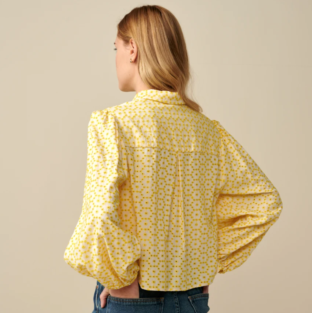 Bellerose Howland Yellow Blouse