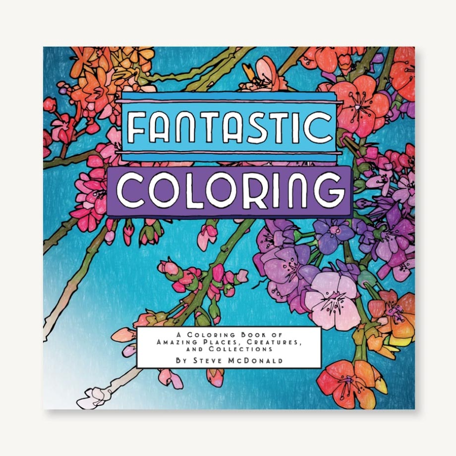 Steve McDonald Fantastic Colouring Book