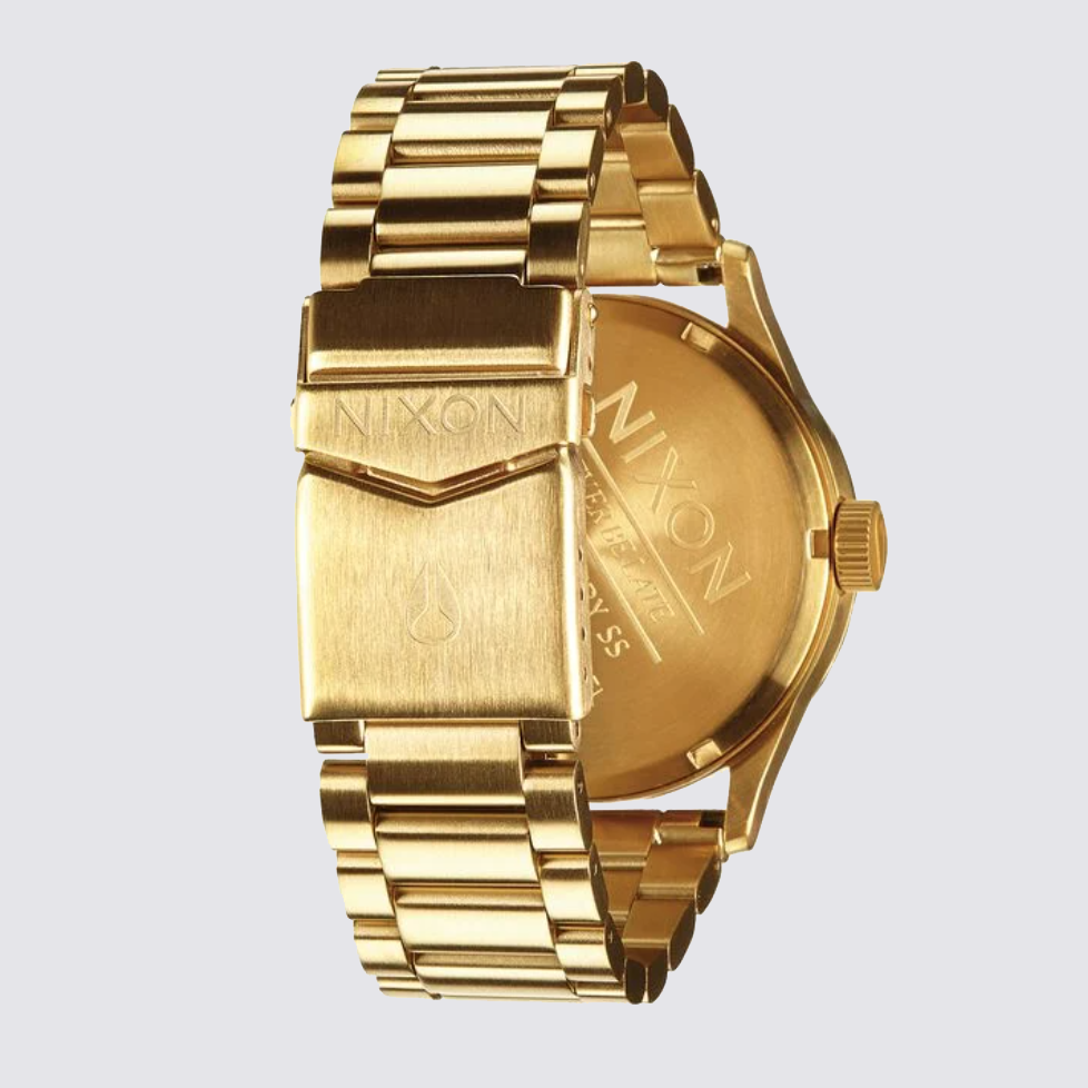 Nixon Sentry SS All Gold Watch