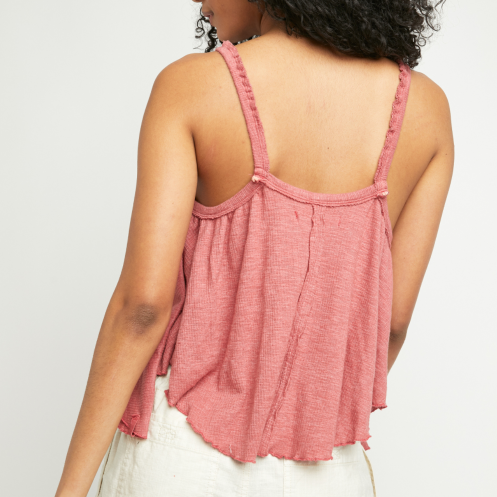 Free People Rosette Dream Weaver Tank Top