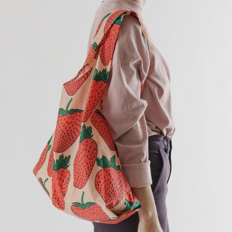 Baggu Strawberry Standard Reusable Bag
