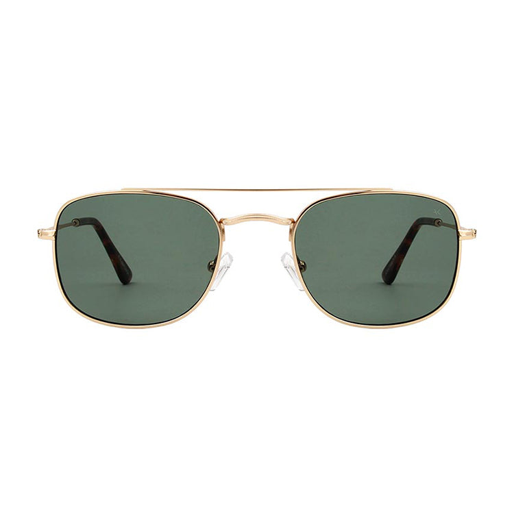 A.Kjærbede Gold Toby Sunglasses - Front