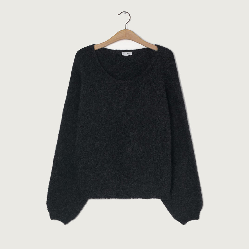 American Vintage Charcoal Melange Short East Jumper