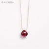 Product shot: Wanderlust Life January Birthstone Garnet Necklace