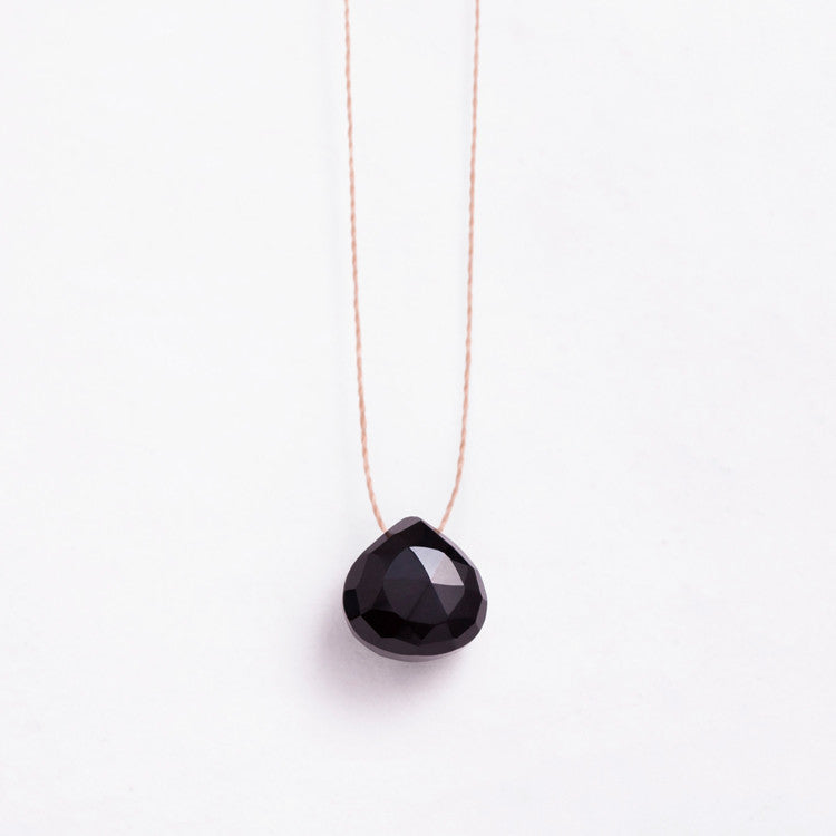 Wanderlust Life | Black Chalcedony Necklace