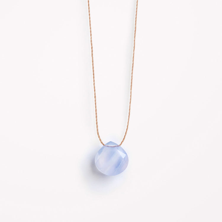 Wanderlust Life Blue Lace Agate Necklace