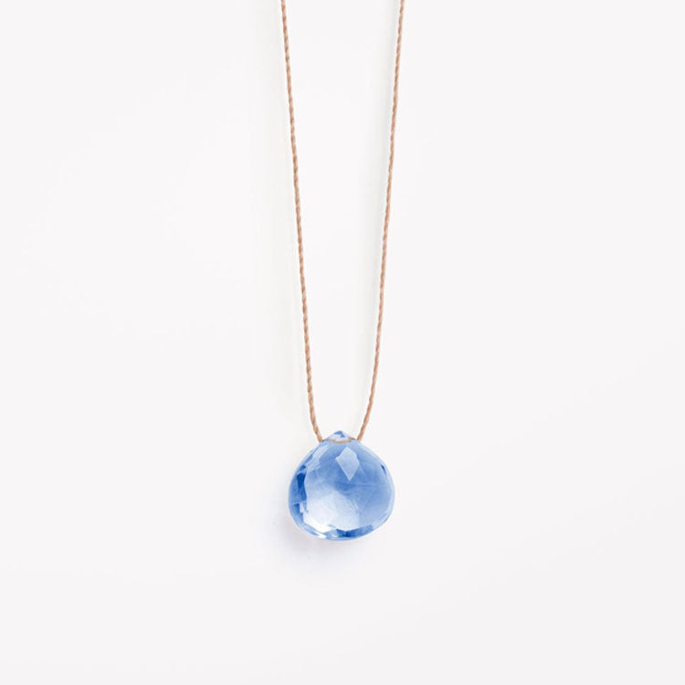 Product shot: Wanderlust Life California Blue Quartz Necklace