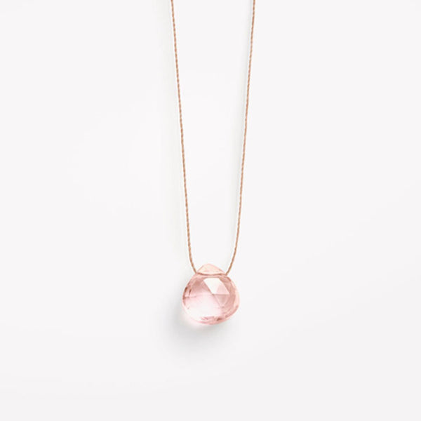 Wanderlust Life Champagne Quartz Necklace