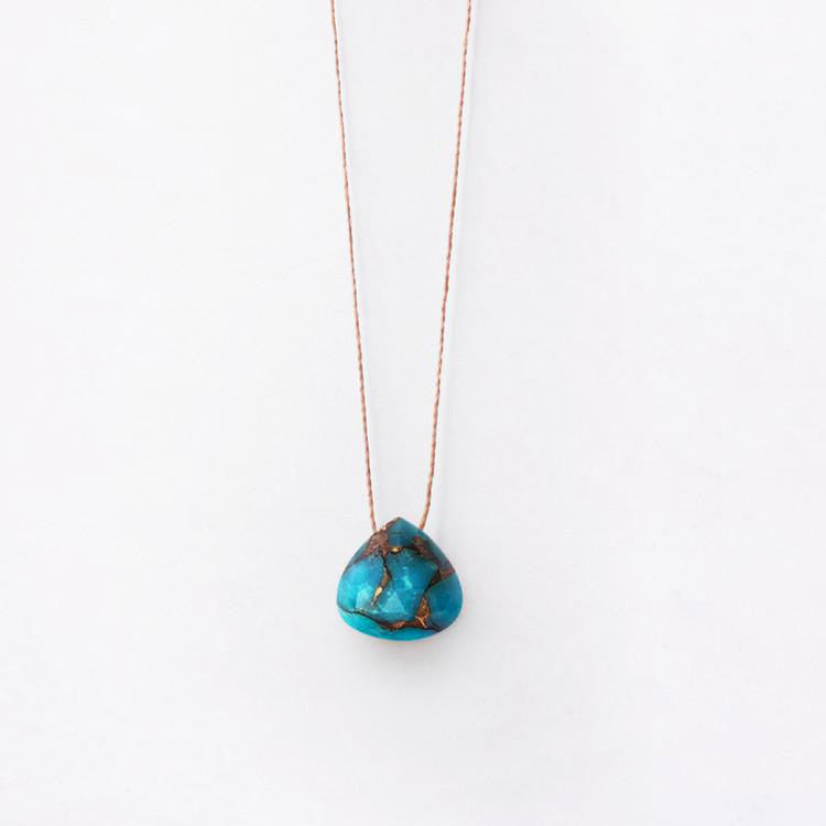 Product shot: Wanderlust Life Mohave Turquoise Necklace