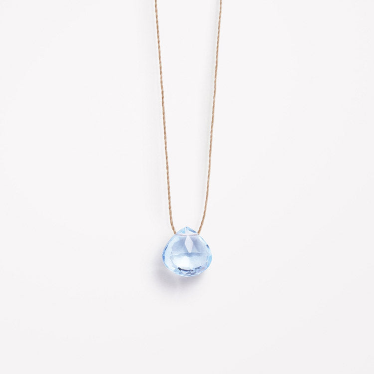 Product shot: Wanderlust Life November Topaz Birthstone Necklace