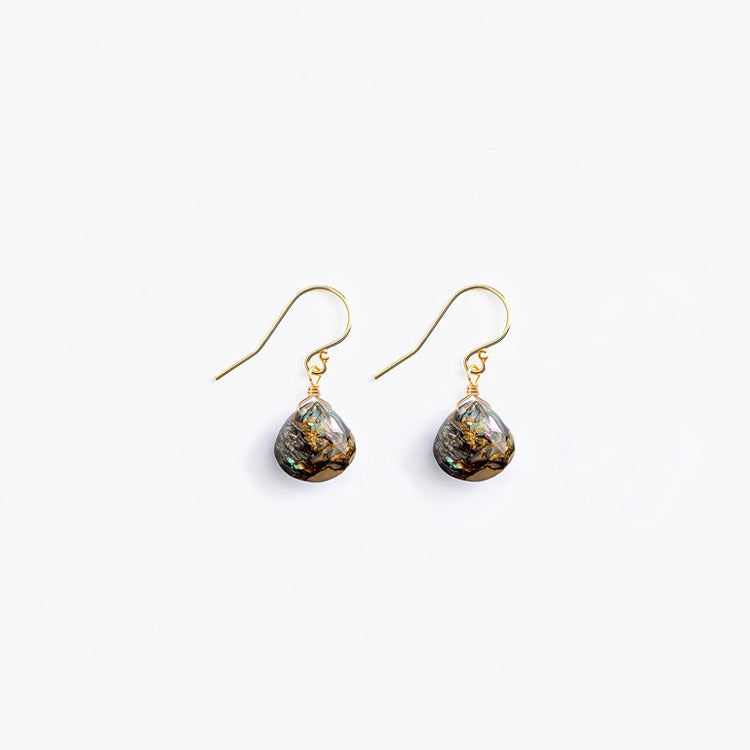 Wanderlust Life Paua Isla Drop Earrings