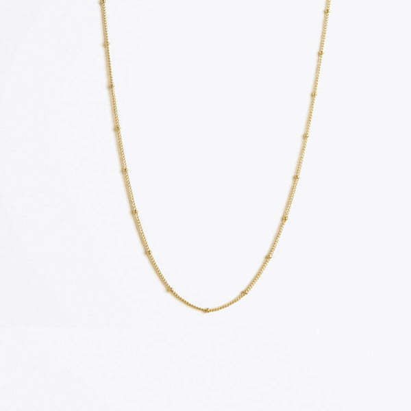 Wanderlust Life Satellite Gold Chain Necklace