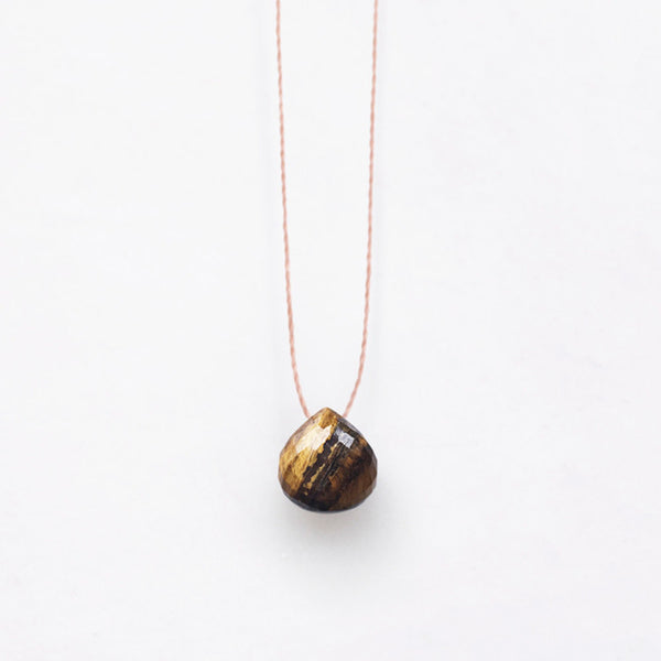 Beautiful the the Autumn/Winter – Wanderlustlife Tiger's Eye Necklace avaialble from Roo's Beach UK