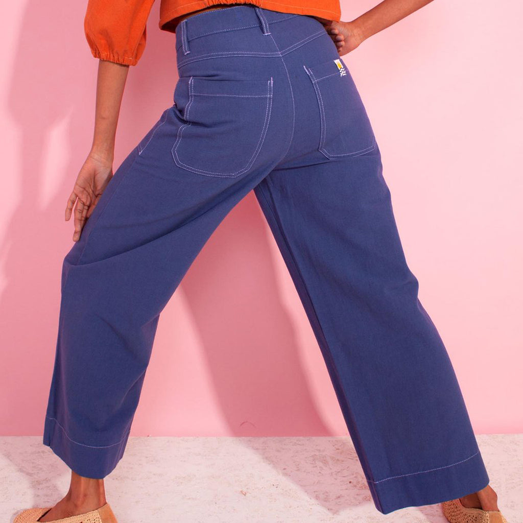 L.F. Markey Cobalt Blue Carpenter Trousers