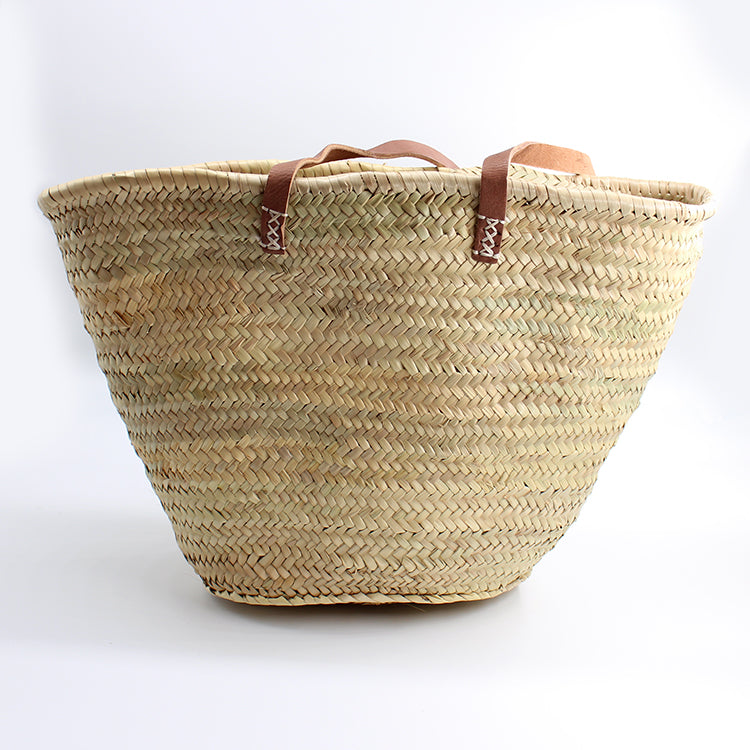 R Goods Lady Raffia Basket Bag