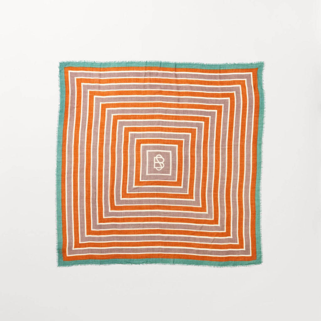 BeckSöndergaard Orange Strillu Wica Scarf