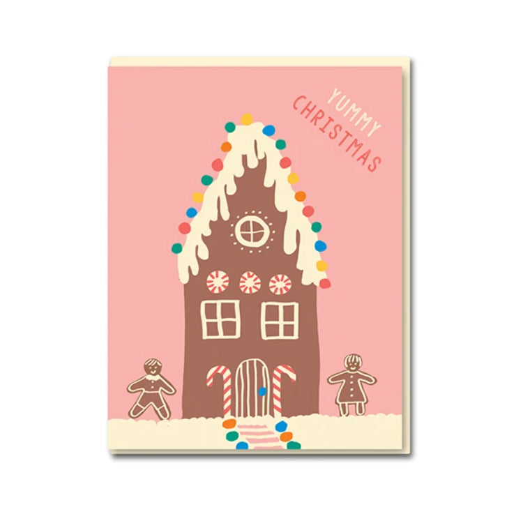 1973 Emma Cooter Christmas Gingerbread Greetings Card
