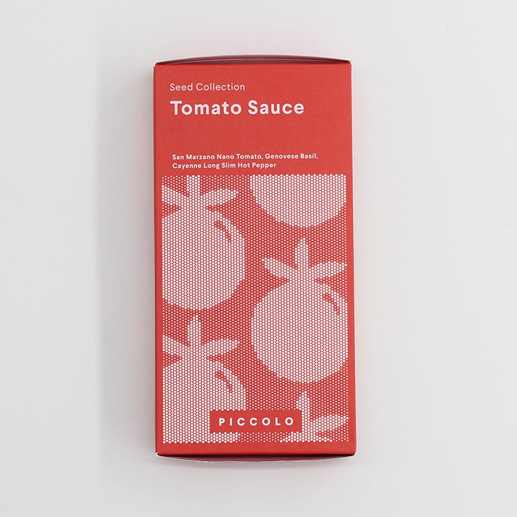 Piccolo Tomato Sauce Seed Collection