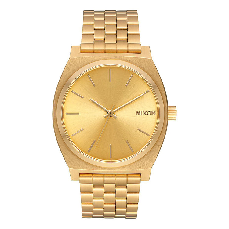 Nixon Time Teller All Gold Watch