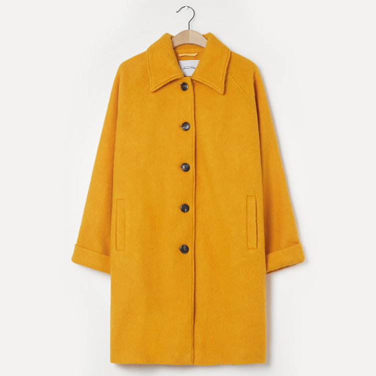 American Vintage Corn Yellow Zalirow Coat