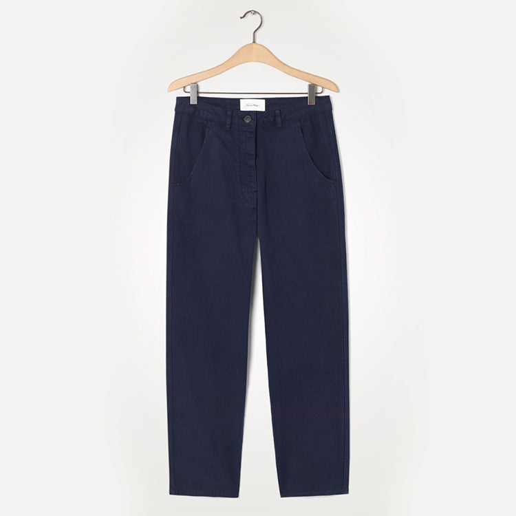 American Vintage Navy Wakibird Trousers