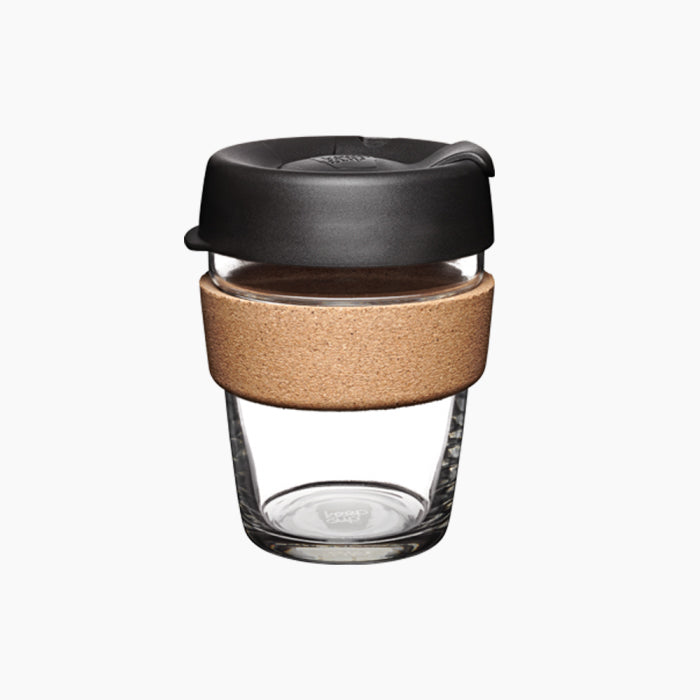 KeepCup Brew Cork Black 12oz / 340ml Cup