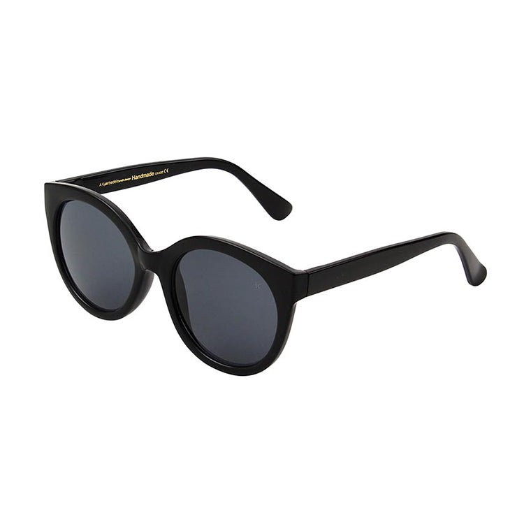 A.Kjærbede Black Butterfly Sunglasses