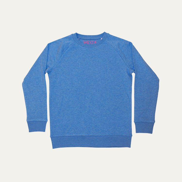 R Goods Kids Sky Blue Crew Sweatshirt
