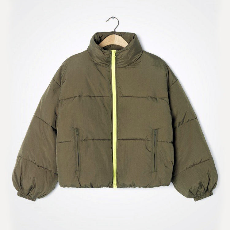 American Vintage Jungle Green Ikino Coat