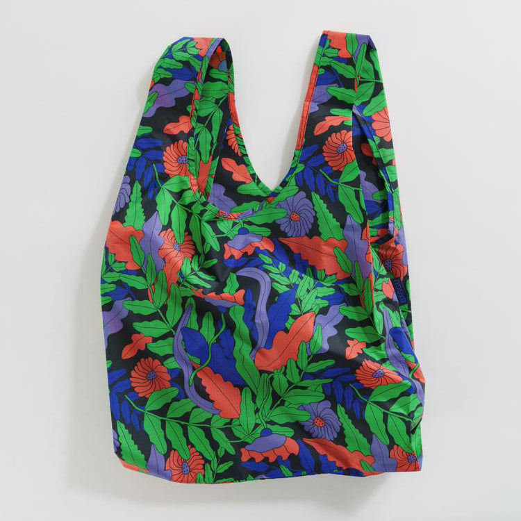 Baggu Midnight Fern Standard Reusable Bag