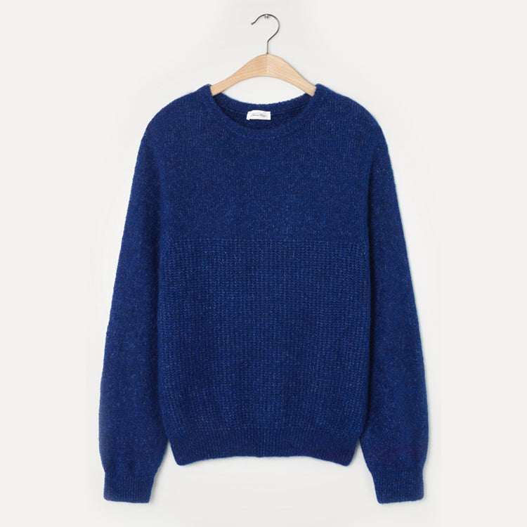 American Vintage Royal Blue East Jumper