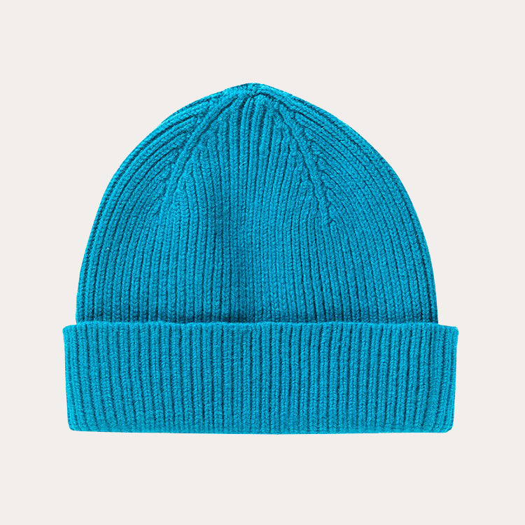 Le Bonnet Teal Blue Beanie Hat