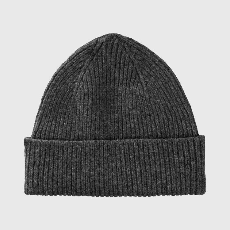 Le Bonnet Graphite Grey Beanie Hat