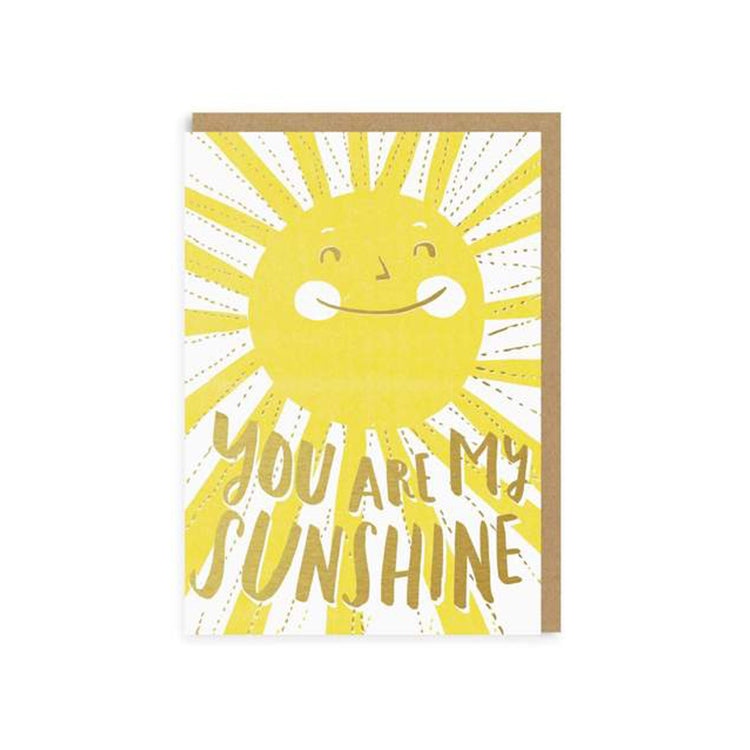 Ohh Deer You Are My Sunshine Greeting Card