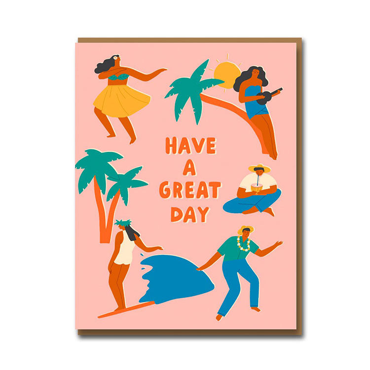 1973 Have a Great Day Birthday Card
