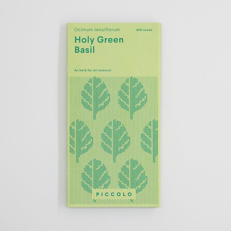 Piccolo Holy Green Basil Seeds